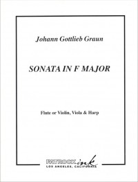 076-2205 • GRAUN - Sonata F-major - Score and parts