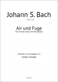 ATV031 • BACH - Air and Fuge - Score and parts