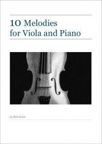 BGVLA01 • 10 Melodies For Viola And Piano