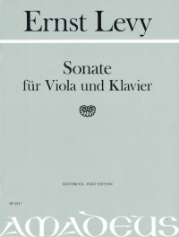 BP 2817 • LEVY - Sonata - FIRST EDITION - Score and viola pa