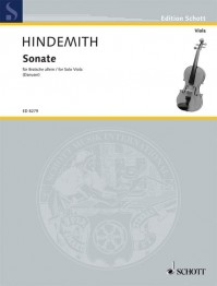 ED 8279 • HINDEMITH - Sonate - Stimme