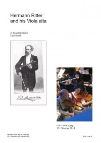 M4V 2 • Hermann Ritter and his Viola alta