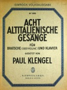 Umschlag / Cover