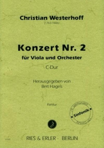 Konzert Nr. 2, C-dur, für Bratsche und Orchester
