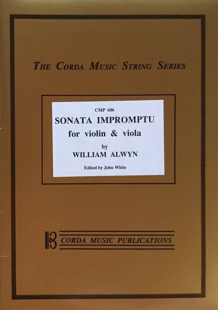 Sonata Impromptu (Sonata quasi fantasia), für Violine und Bratsche