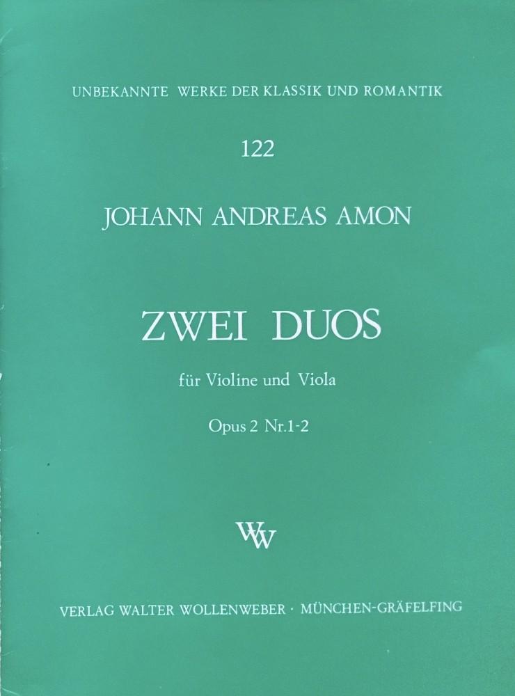 6 Duos (C/G/D/A/Es/B), op. 2, für Violine und Bratsche