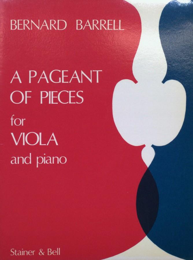 A Pageant of Pieces, op. 100, für Bratsche und Klavier