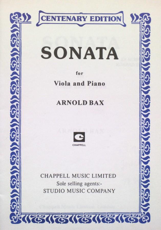 Sonate für Bratsche und Klavier