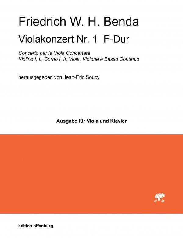 Konzert Nr. 1 F-Dur, LorB 314, für Bratsche, 2 Hörner, Streicher und Basso continuo