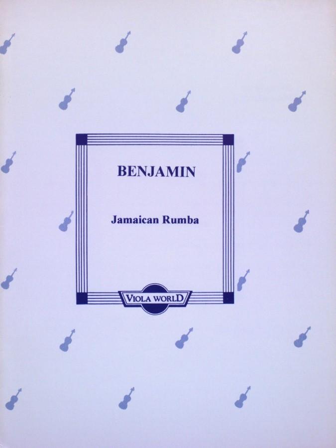 Jamaican Rumba, (Primrose), für Bratsche und Klavier