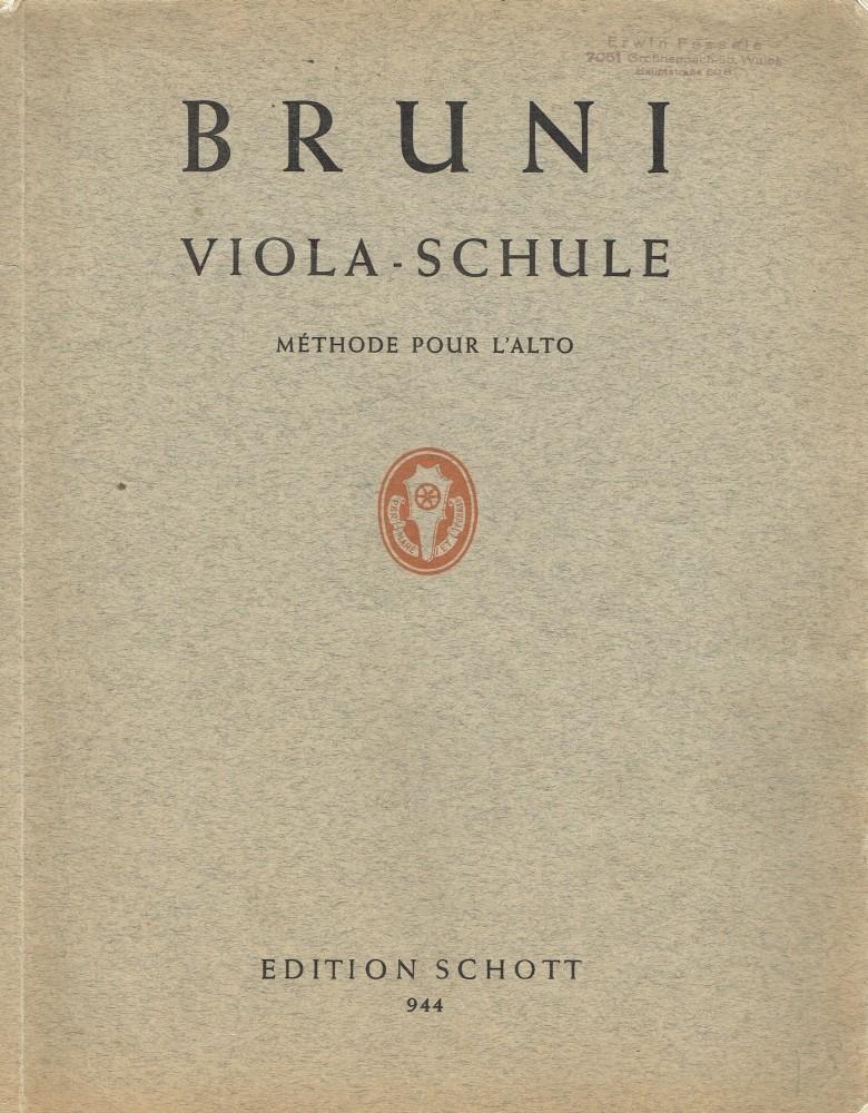 Viola-Schule, für Bratsche