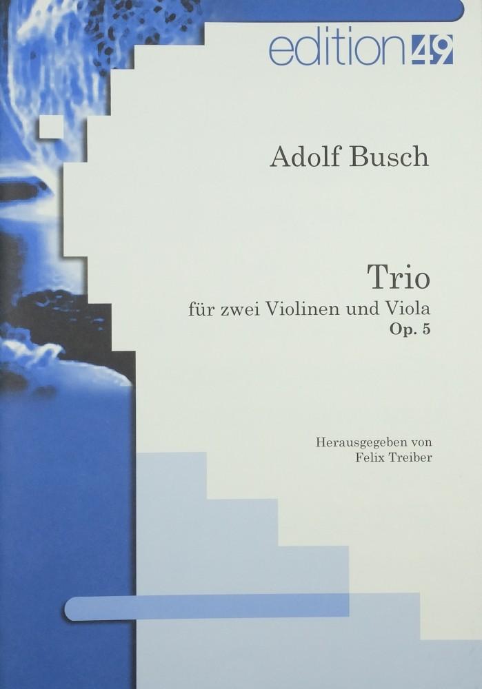 Trio e-moll, op. 5, für 2 Violinen und Bratsche