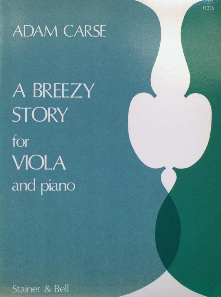 A Breezy Story, für Bratsche und Klavier