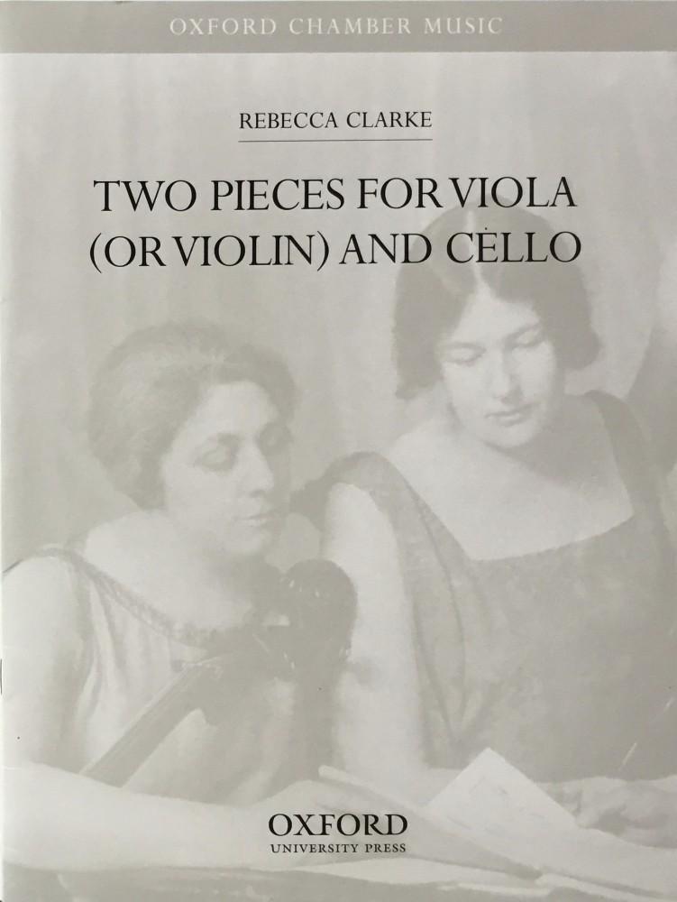 2 Pieces (Lullaby/Grotesque), für Bratsche (Violine) und Violoncello