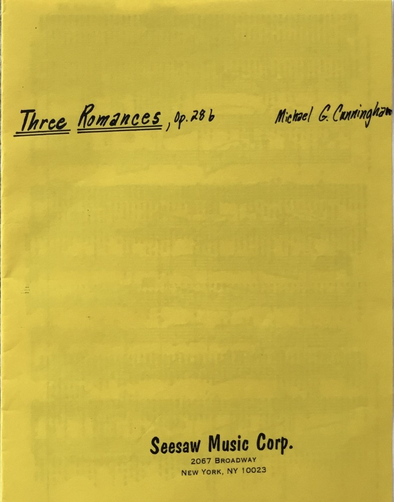 Three Romances, op. 28b, für Bratsche und Violoncello