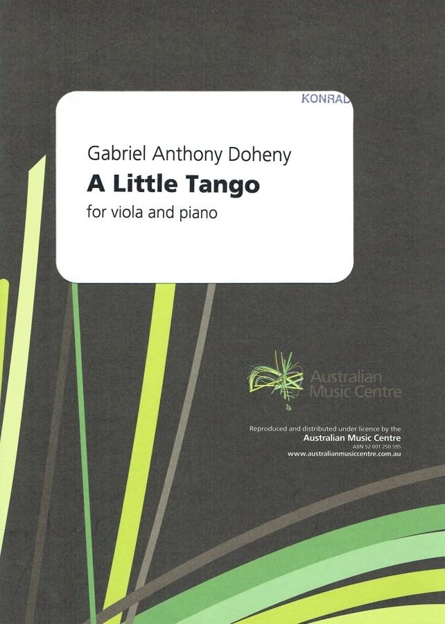A Little Tango, für Bratsche und Klavier