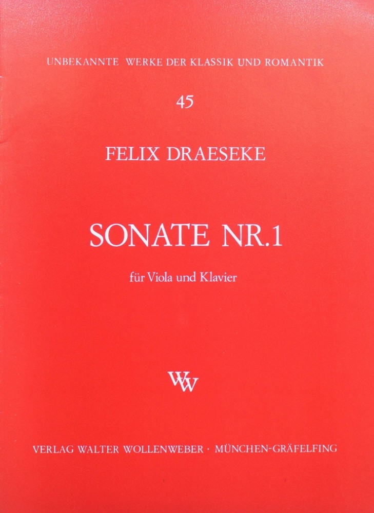 1. Sonate c-moll, op. 56, Nr. 1, für Bratsche und Klavier
