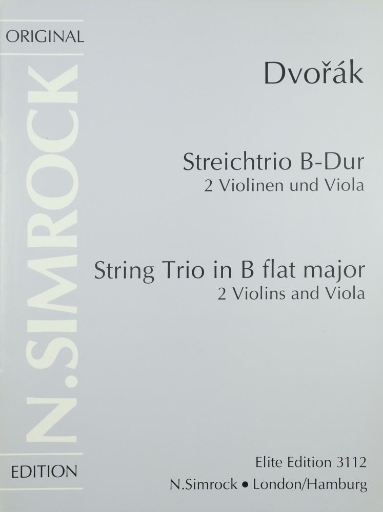 Trio B-dur, op. 75a, für 2 Violinen und Bratsche