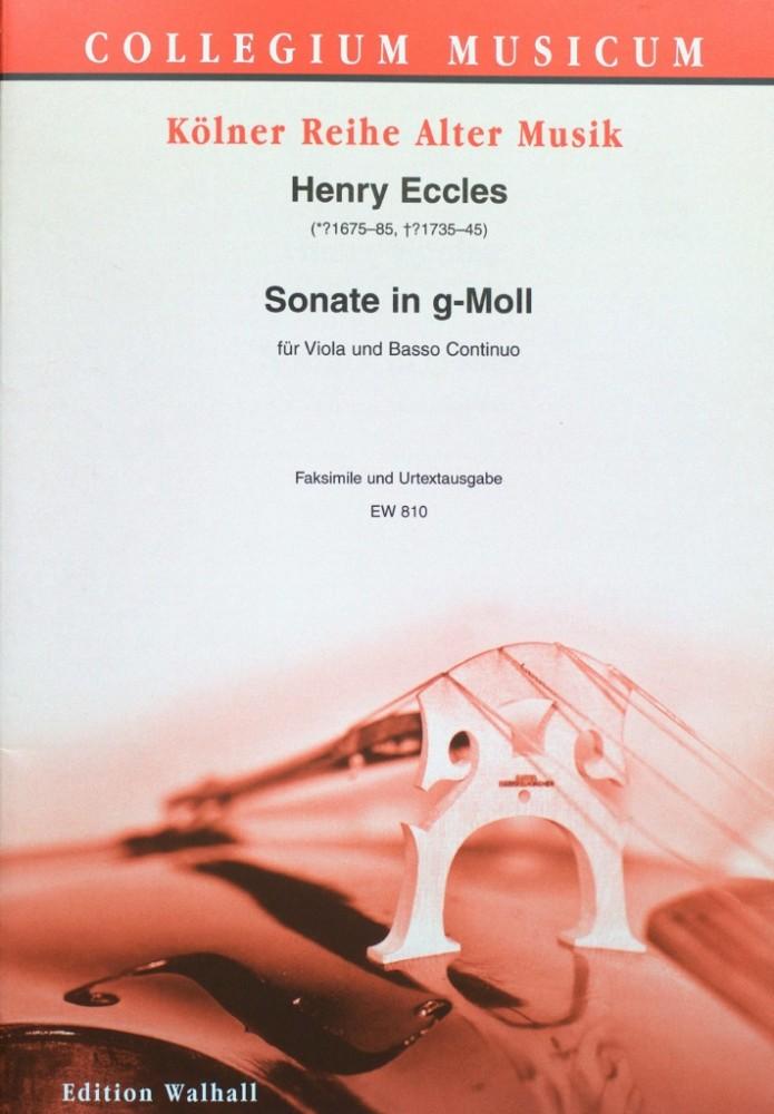 Sonate g-moll, op. 1, Nr. 11, für Bratsche und Klavier