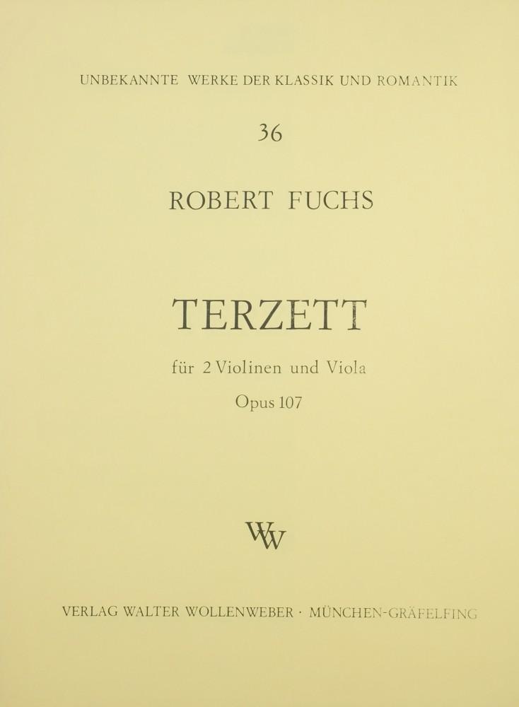 Terzett cis-moll, op. 107, für 2 Violinen und Bratsche