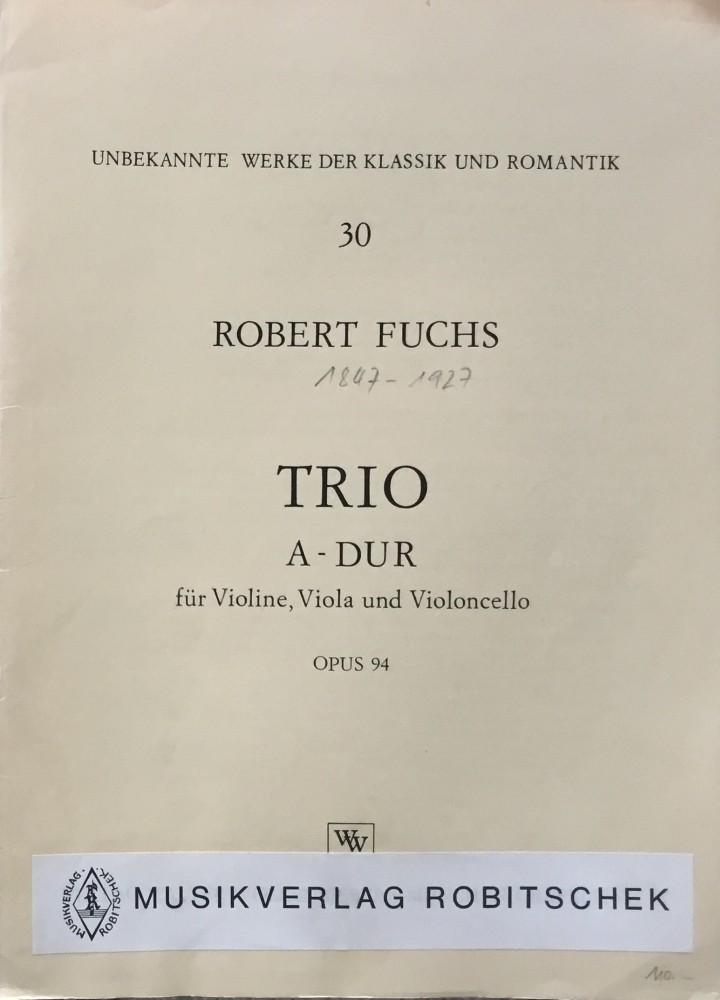 Trio A-dur, op. 94, für Violine, Bratsche und Violoncello