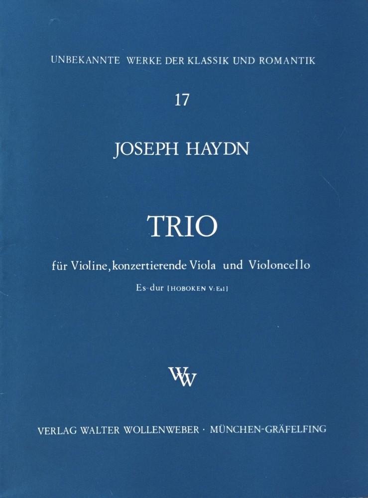 Trio Eb-major, for Violin concertante, Viola and Violoncello