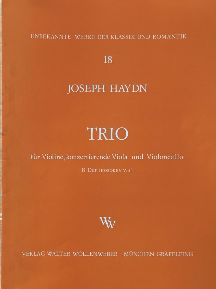 Trio B-dur für Violine konz., Bratsche und Violoncello