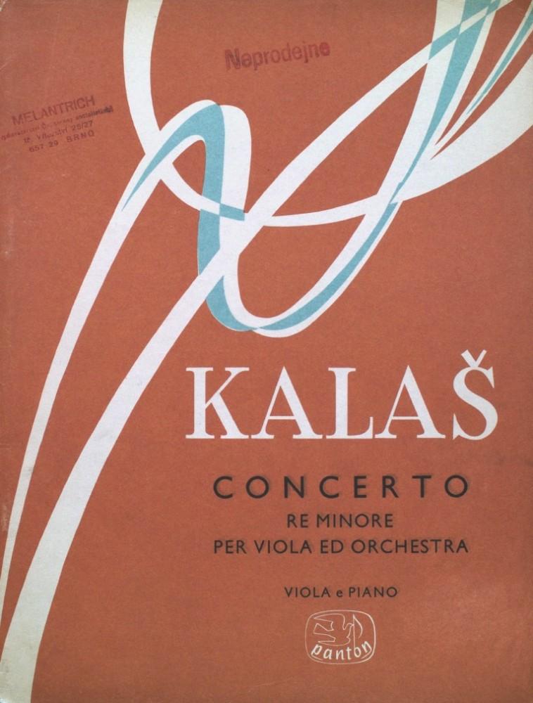 Konzert d-moll, op. 69, für Bratsche und Orchester