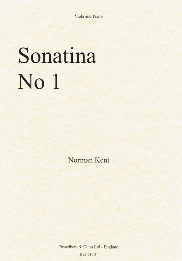 1. Sonatine, für Bratsche und Klavier