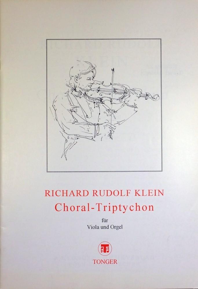 Choral-Triptychon, für Bratsche und Orgel