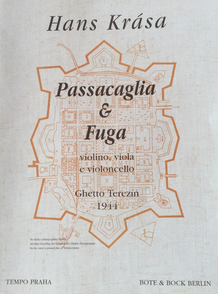 Passacaglia und Fuga, für Violine, Bratsche und Violoncello