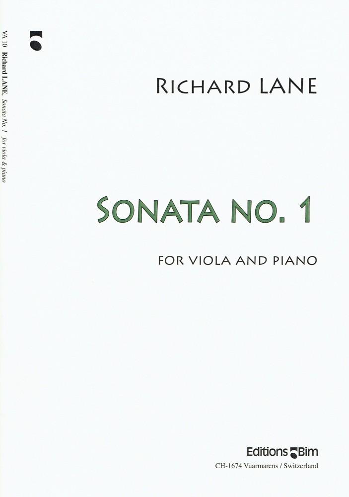 1. Sonate, für Bratsche und Klavier