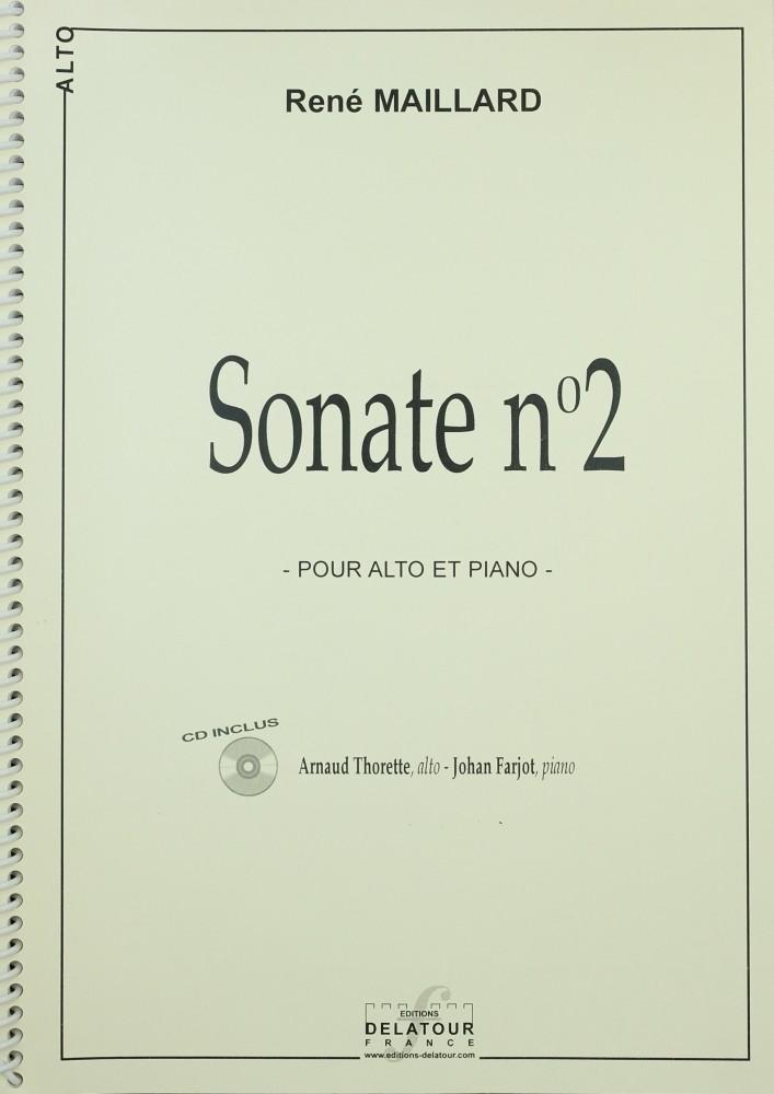 2. Sonate, op. 18, für Bratsche und Klavier