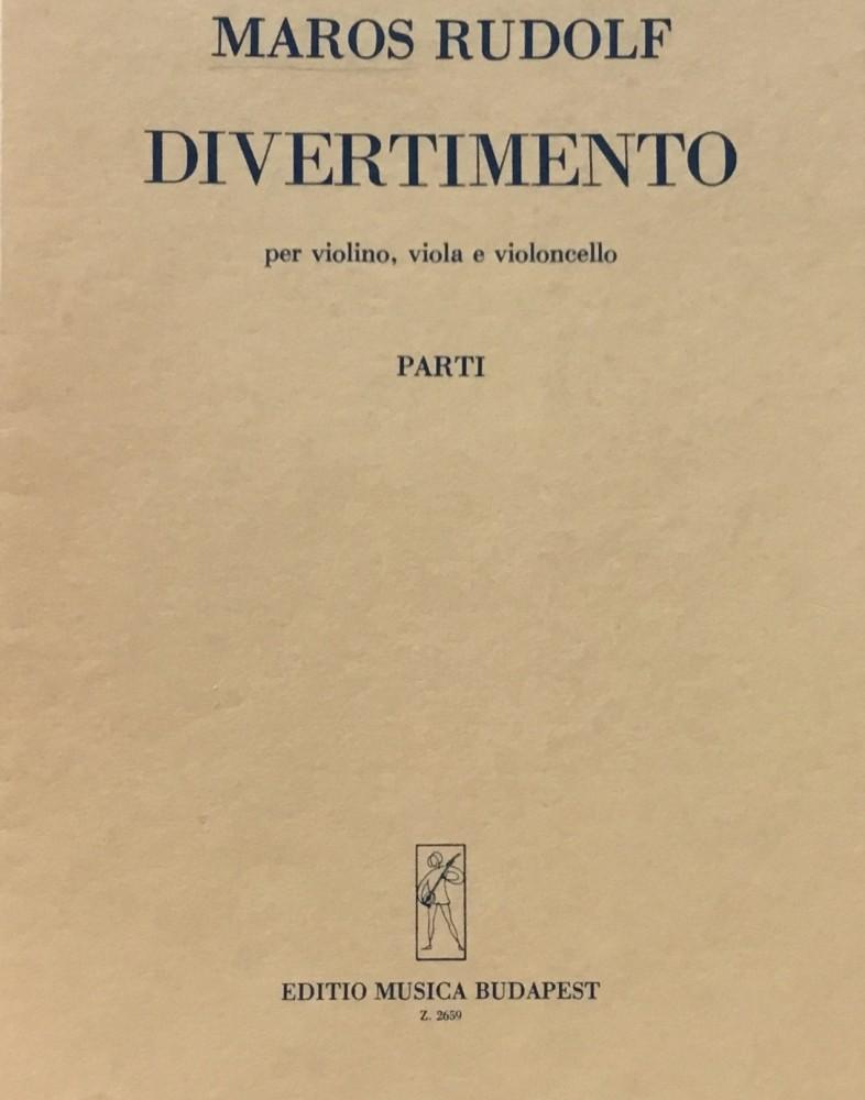 Divertimento für Violine, Bratsche und Violoncello