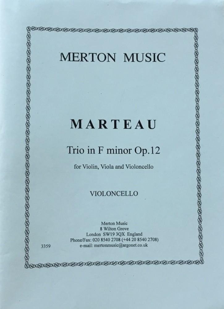 Trio f-moll, op. 12, für Violine, Bratsche und Violoncello