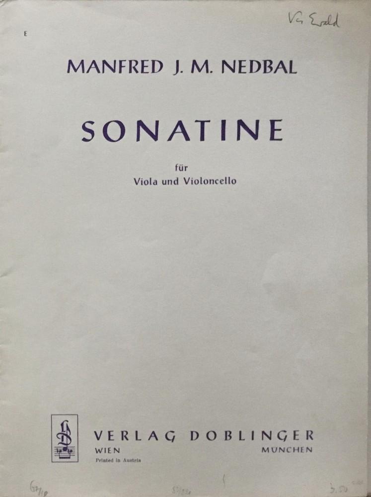 Sonatine für Bratsche und Violoncello