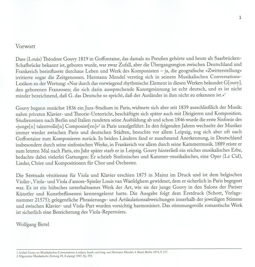 Sérénade vénitienne, für Bratsche und Klavier