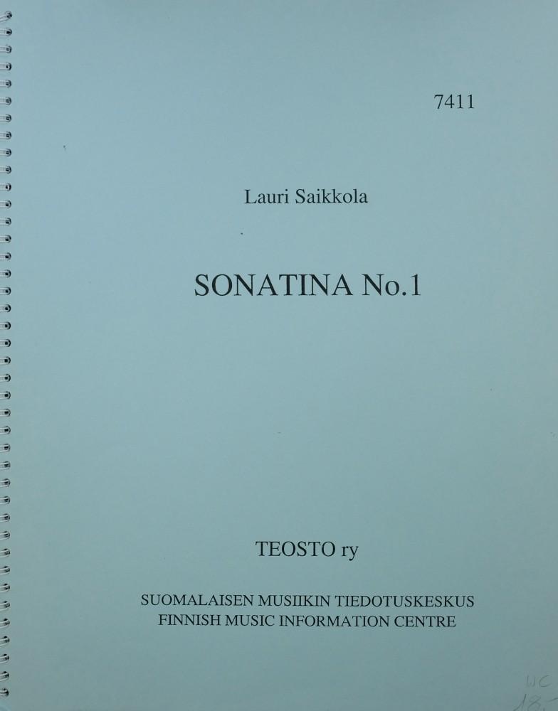 Sonatina Nr. 1, op. 35, für Bratsche und Klavier