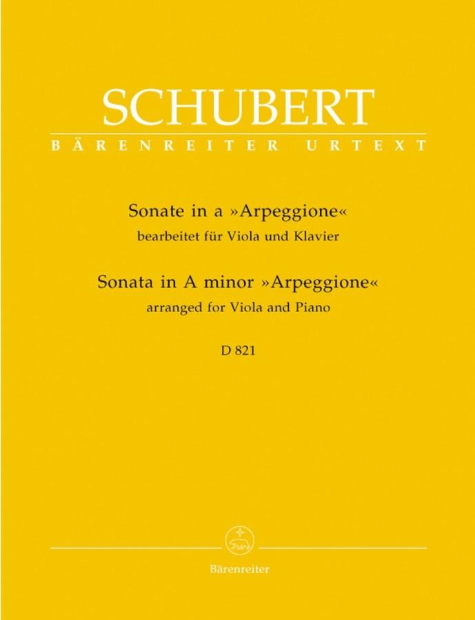 Arpeggione-Sonate a-moll, für Bratsche und Klavier