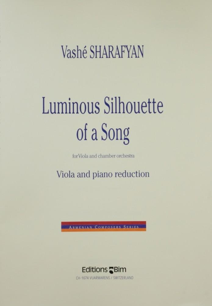 Luminous Silhouette of a Song, für Bratsche und Kammerorchester (Klavier)