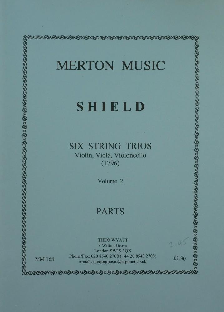 3 Trios (E/C/B), für Violine, Bratsche und Violoncello