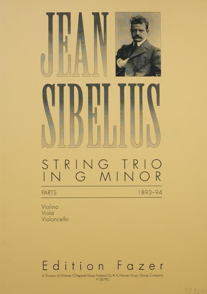 Trio g-moll, für Violine, Bratsche und Violoncello