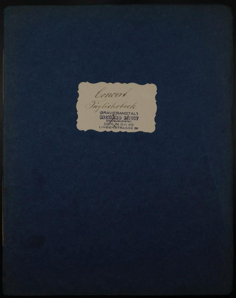 Konzertstück c-moll, op. 49, für Bratsche und Orchester