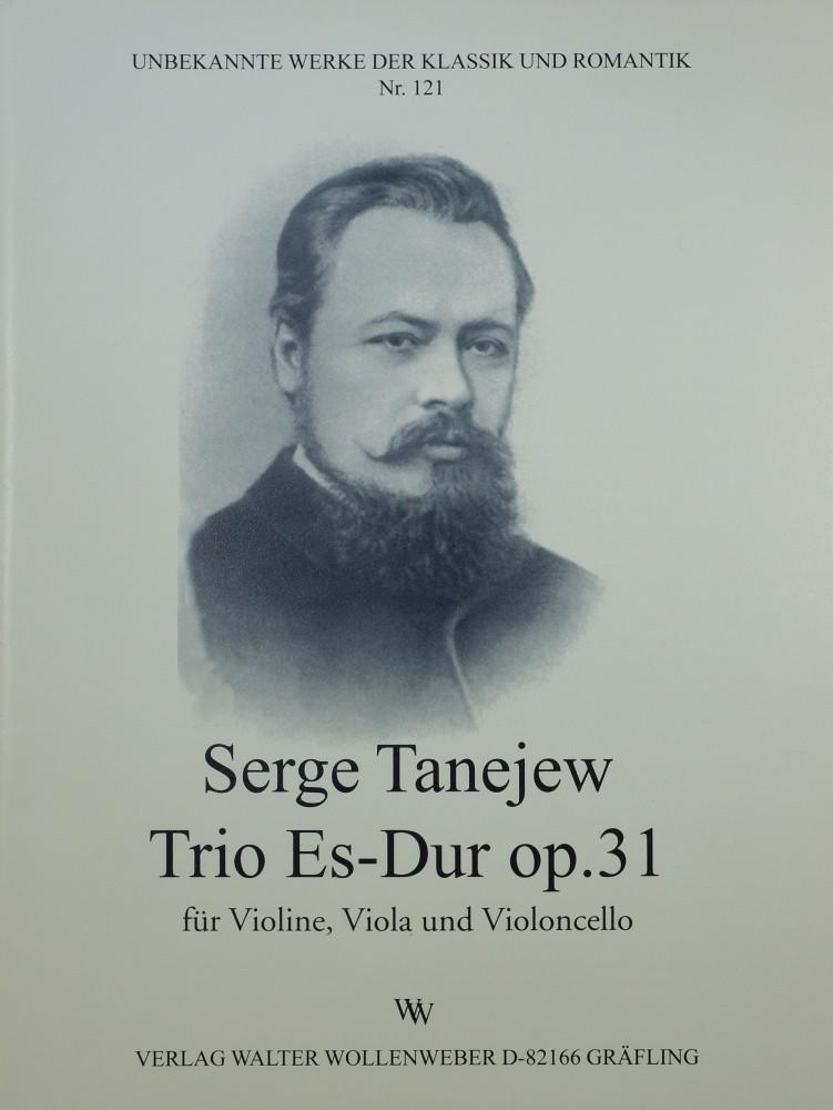 Trio Es-dur, op. 31, für Violine, Bratsche und Violoncello