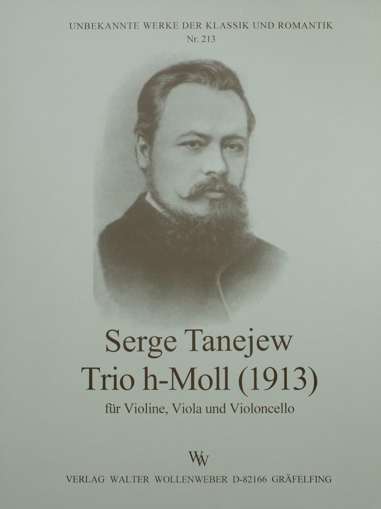 Trio h-moll, für Violine, Bratsche und Violoncello
