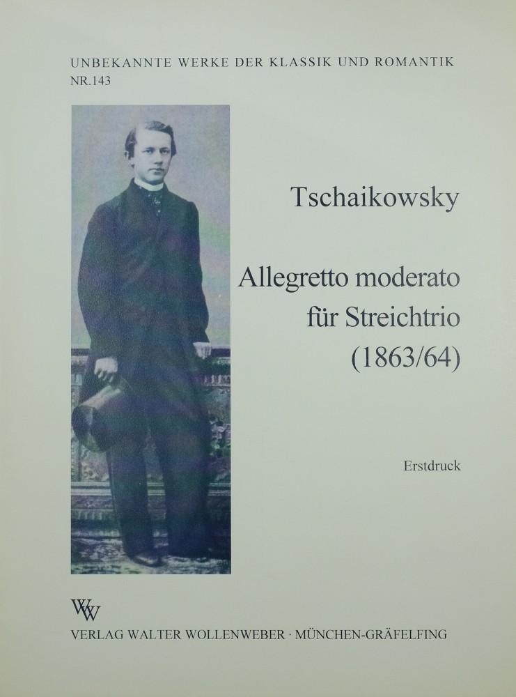 Allegretto moderato, für Violine, Bratsche und Violoncello