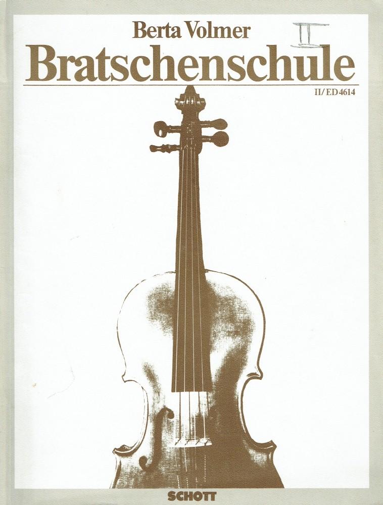 Méthode d'Alto Volume 2, für Bratsche