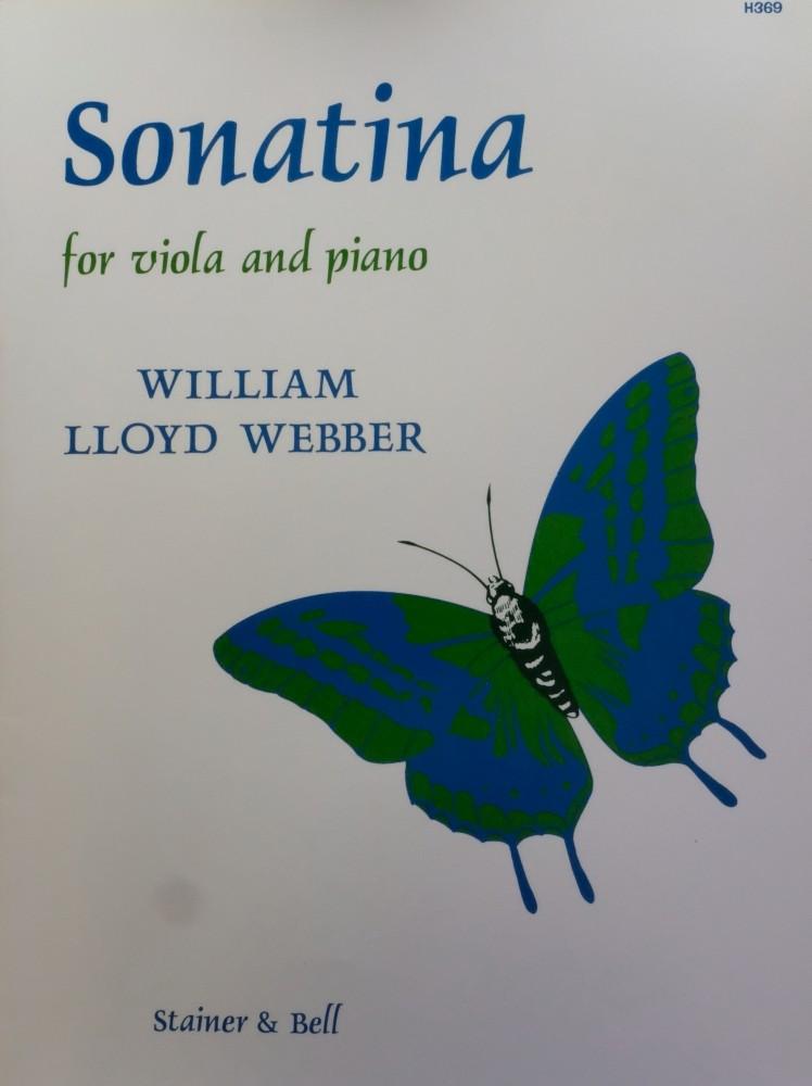 Sonatine für Bratsche und Klavier