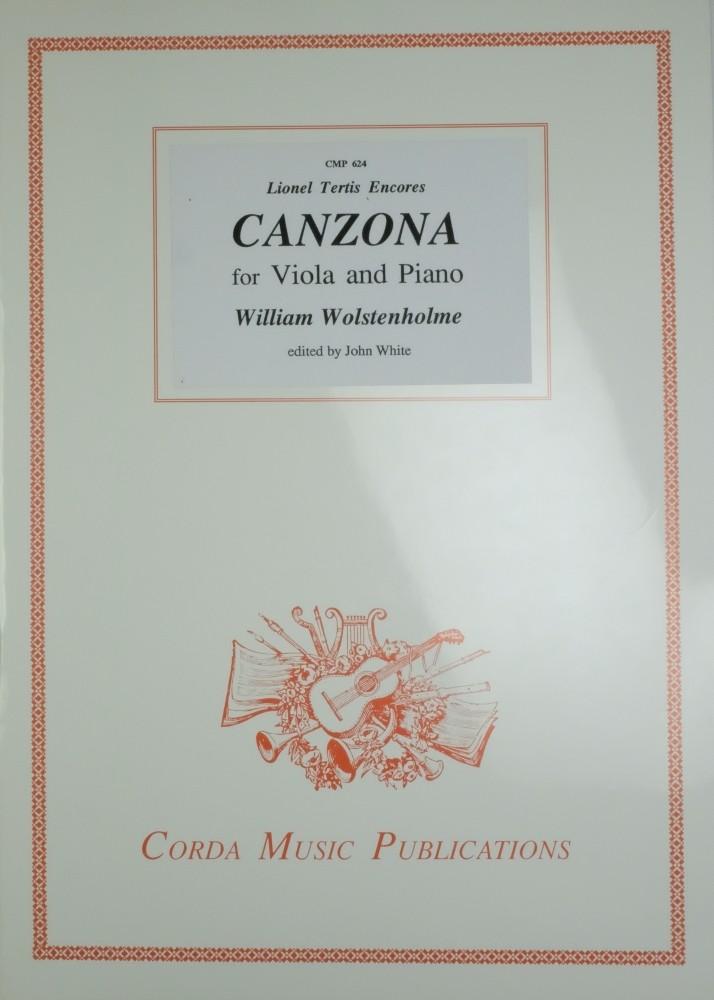 Canzona, arrangiert für Bratsche und Klavier