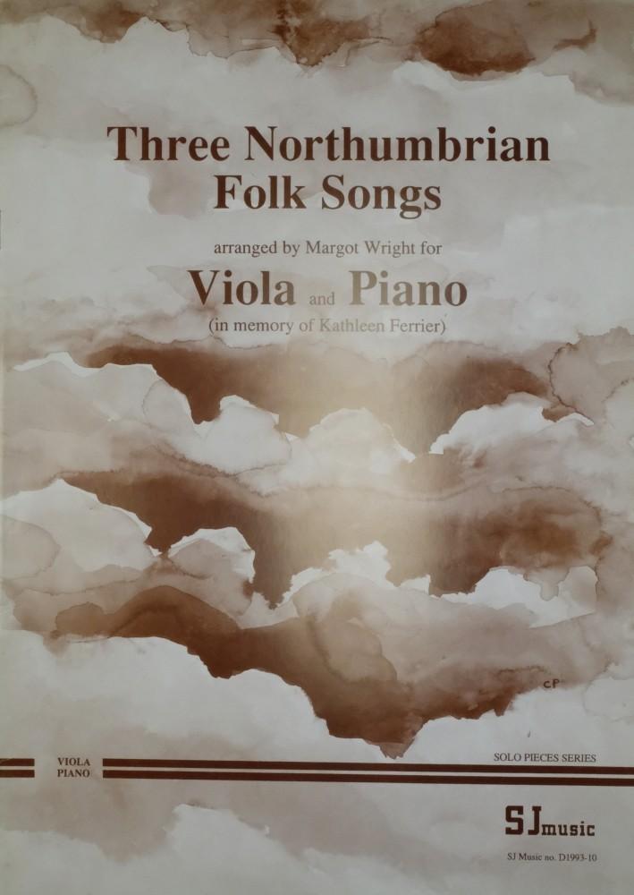 Three Northumbrian Folk Songs, für Bratsche und Klavier